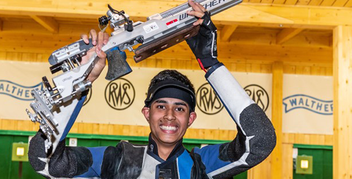 hriday hazarika wins 10m air rifle t1 trials