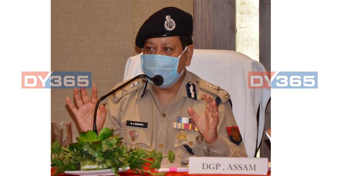 assam dgp bhaskar jyoti mahanta tests covid positive