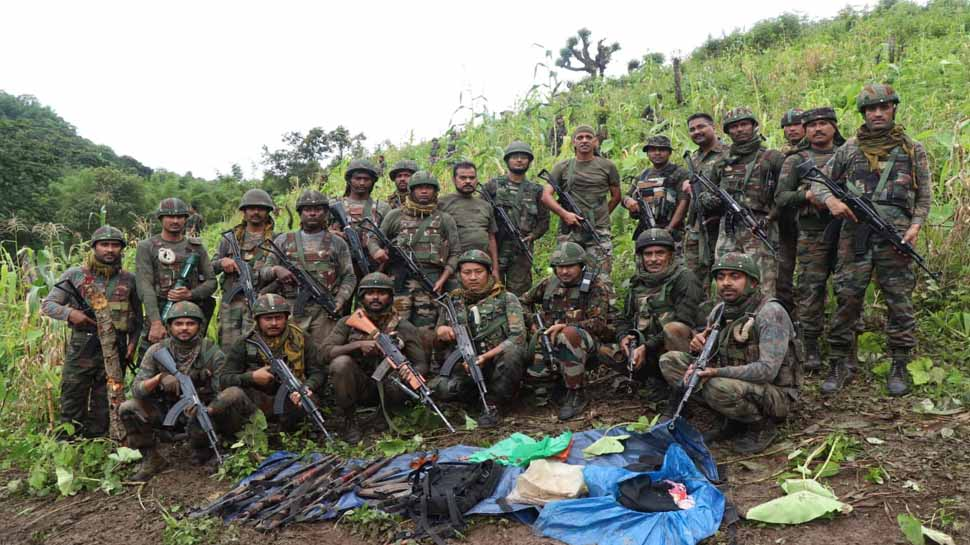 encounter between security forces and nscn im in arunachal pradesh six insurgents killed one jawan injured