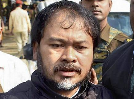 breaking | imprisoned kmss leader akhil gogoi test positive for covid-19
