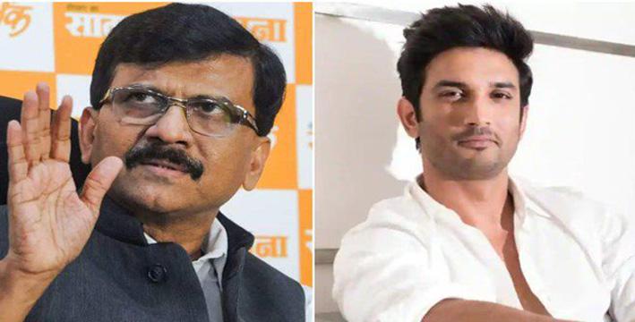 sushant singh rajput's relative bihar mla sends legal notice to shiv sena leader sanjay raut