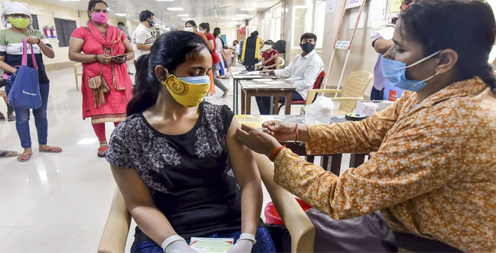 India reports 80,834 new COVID-19 cases, lowest in 71 days