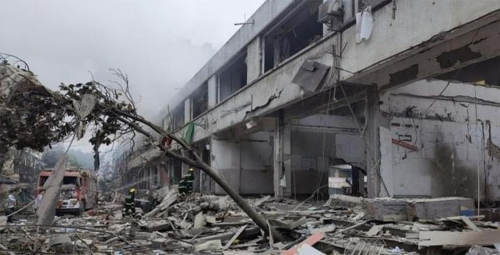 WATCH: Massive explosion ravages China