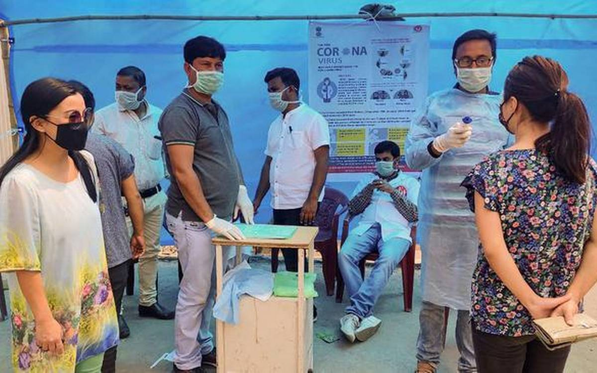 assam covid-19 | 735 new cases detected 400 of them from guwahati alone