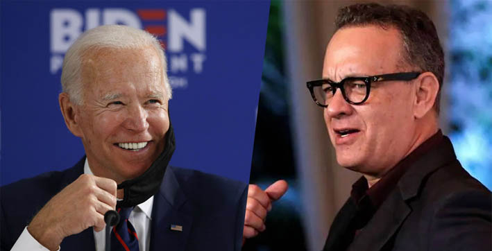 actor tom hanks to host a 90-minute tv show for joe bidens inauguration