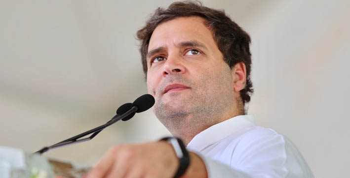 rahul gandhi asks people to join kisan adhikar campaign