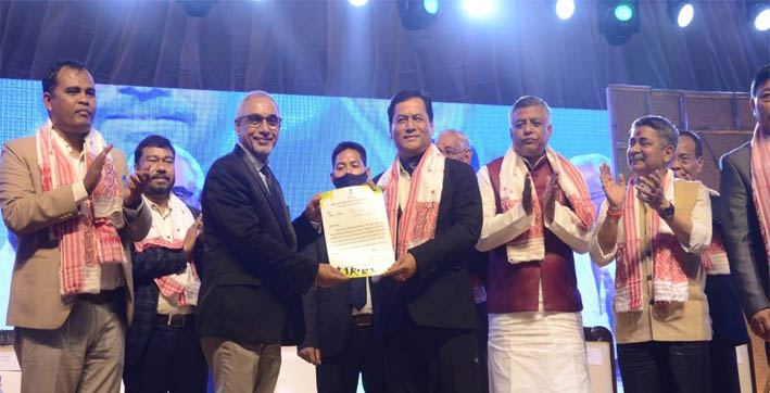 cm distributes financial assistance to 1000 sports persons