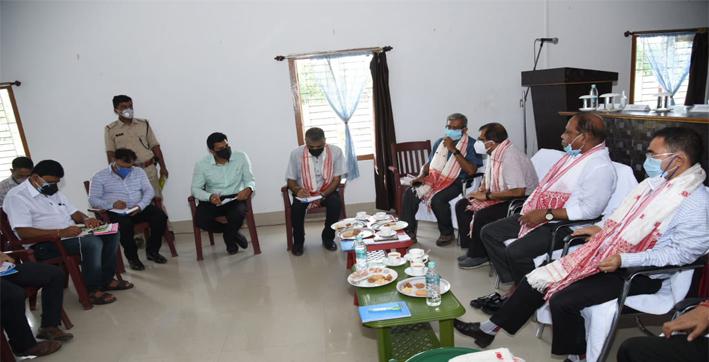 Forest Minister Parimal Suklabaidya tells officials to build environment-friendly infrastructure