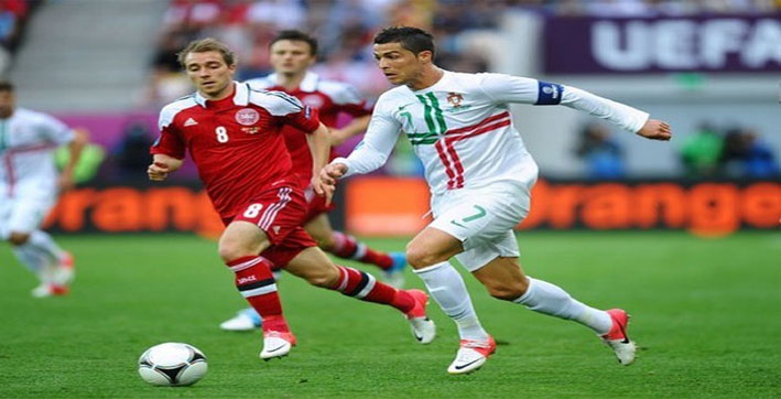 Ronaldo becomes first player to feature in five Euro Cup finals tournaments