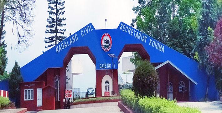 Nagaland Chief Secretary S Office Sealed