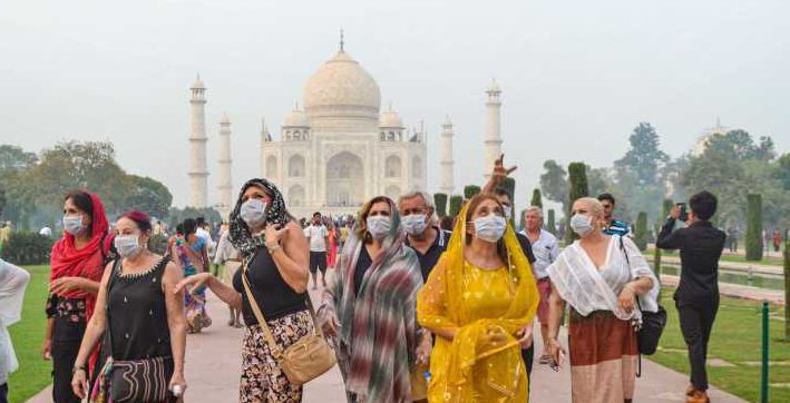 footfall to taj mahal dropped by 76 pc in 2020 due to covid-19 situation