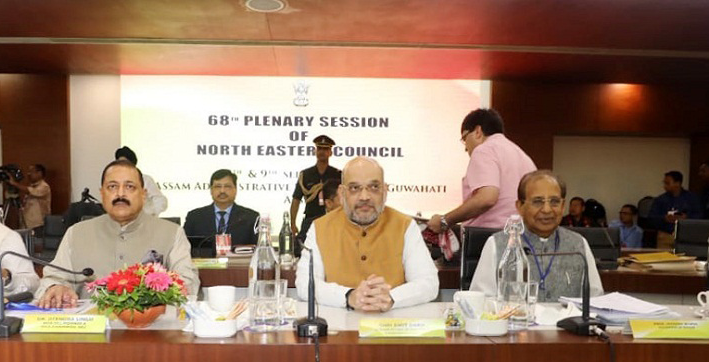 amit shah to chair 69th plenary session of north eastern council on jan 23 24