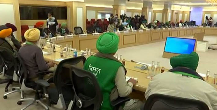centre postpones tenth round of talks with farmers to january 20