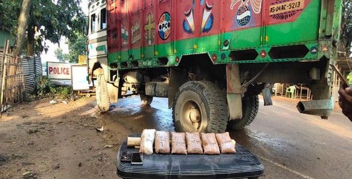 2 held 345 kg heroin seized by assam police