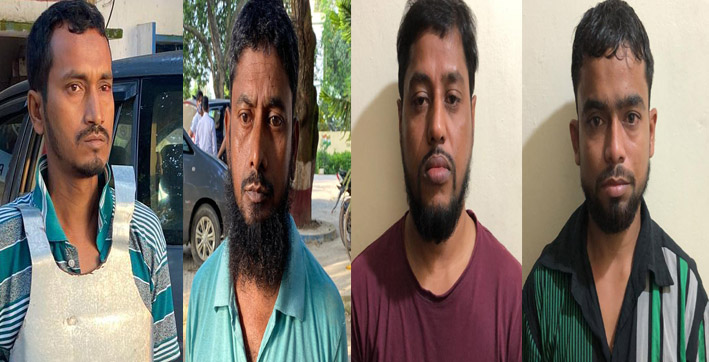 al qaeda module busted 9 terrorists arrested from kerala west bengal