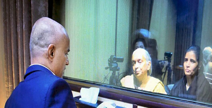 pakistan rejects indias demand for indian lawyer in kulbhushan jadhav case