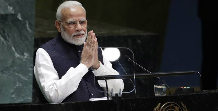 pm modi to attend two debates in this years historic unga session