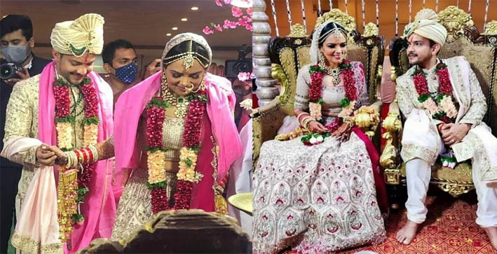 aditya narayan marries girlfriend shweta agarwal in mumbai