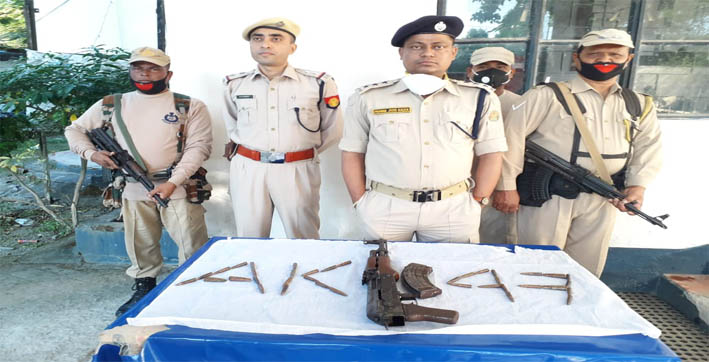 ak-47 rifle ammunition recovered in baksa