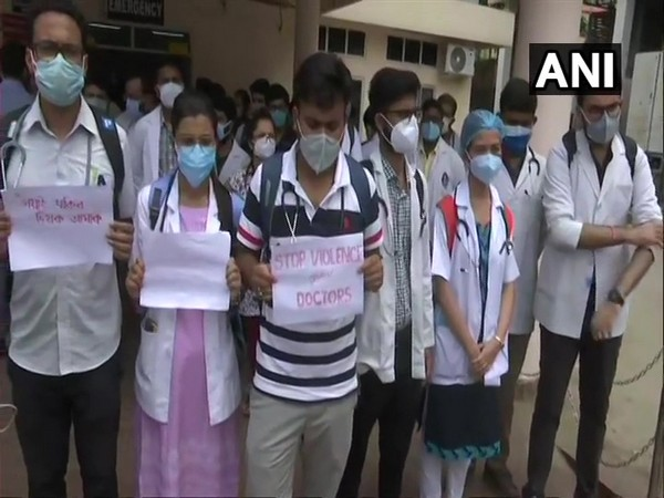 Hojai Doctor Assault | Doctors protest in Guwahati over the incident
