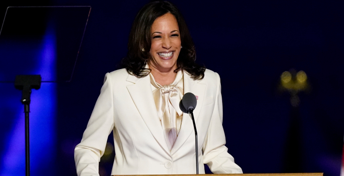 kamala harris - breaker of glass ceilings who lives her american dream