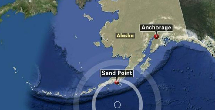 tidal wave alert on alaska coast after 75 richter scale quake