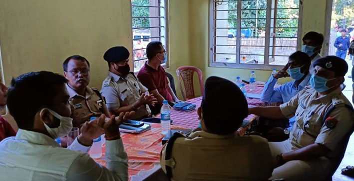 assam-mizoram official level talks held to amicably resolve border flare up