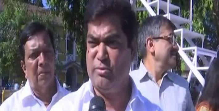 goa congress registers complaint against deputy cm