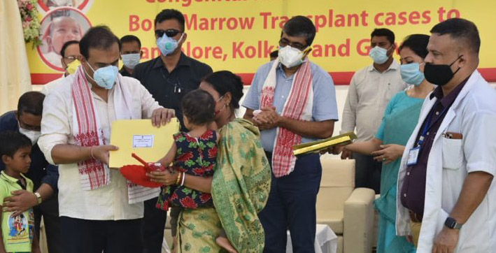 assam offers financial aid to children to undergo cardiac surgery bone marrow transplant