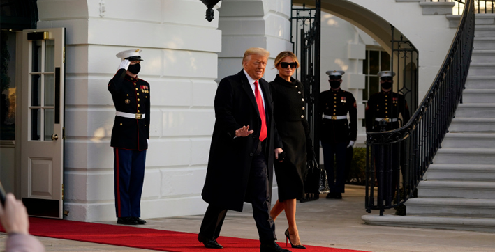 melania exits white house in funeral black outfit with usd 50000 birkin bag