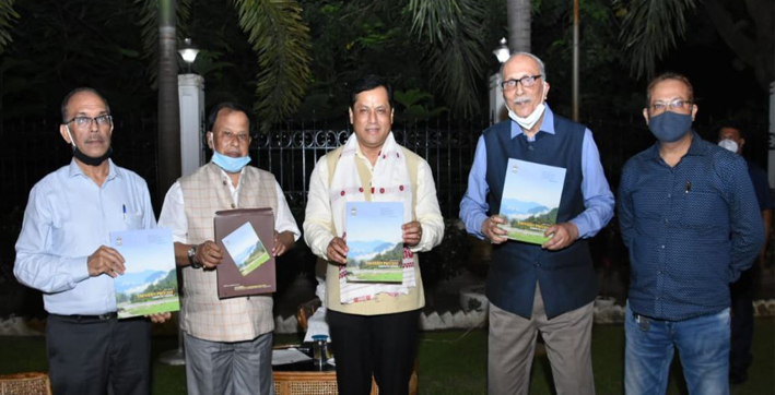 sonowal releases a journal of sita