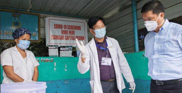 arunachal pradesh reports more covid-19 recoveries than fresh cases for 7th consecutive day
