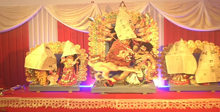 durga puja festivities begin with maha sasthi today
