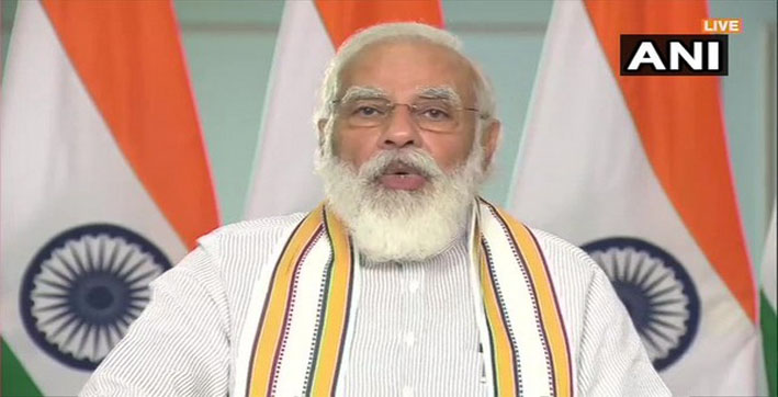pm modi leaves for assam west bengal to inaugurate development projects