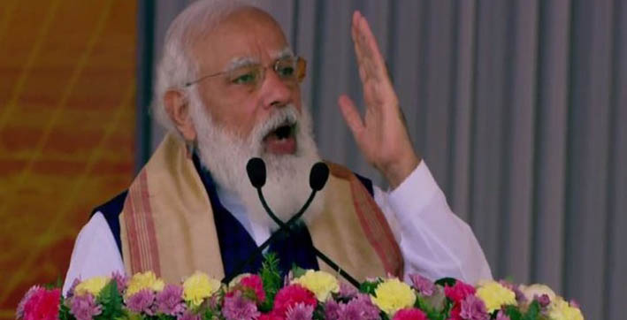 rapid development of assam northeast region integral part of self-reliant india pm modi