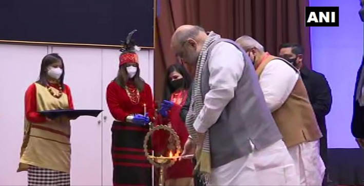 amit shah inaugurates 69th north eastern session in shillong