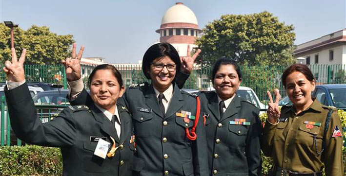 women army officers move sc over non-implementation of its order to grant permanent commission