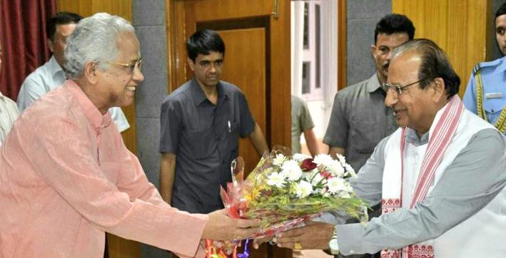 governor condoles former chief minister tarun gogoi's death