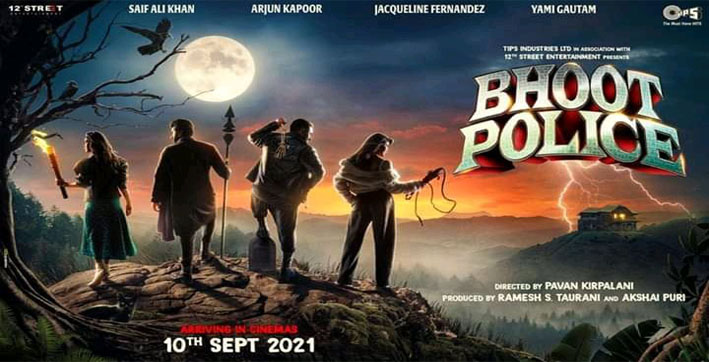 arjun kapoor saif ali khan's bhoot police to release in theatres on sep 10