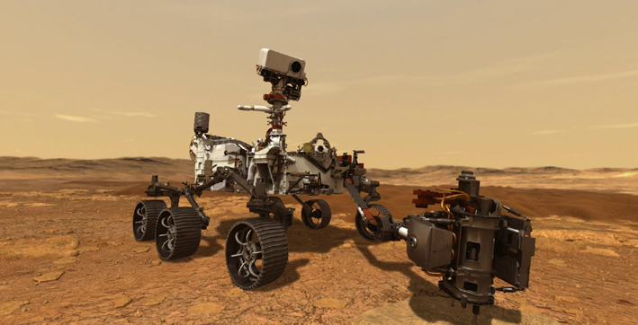 mars perseverance rover provides front-row seat to landing first audio recording of red planet