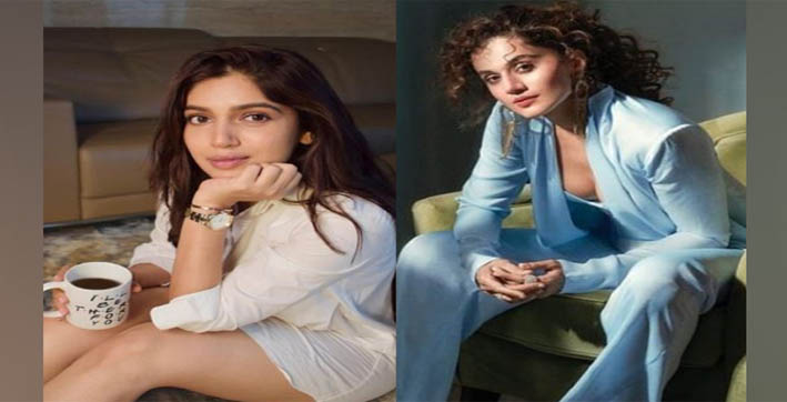 bhumi pednekar taapsee pannu celebrate national girl child day