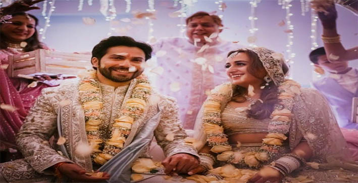 varun dhawan ties the knot with natasha dalal in alibaug