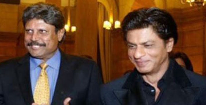shah rukh khan wishes former cricketer kapil dev speedy recovery