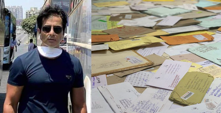 sonu sood gives glimpse of the help mails he receives daily