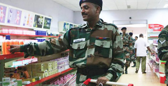 military canteens to stop selling chinese goods imported liquor too may come under ban