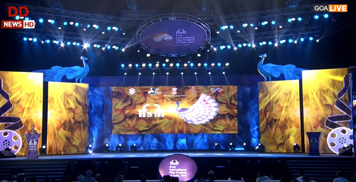iffi honours creme de la creme of world cinema at closing ceremony