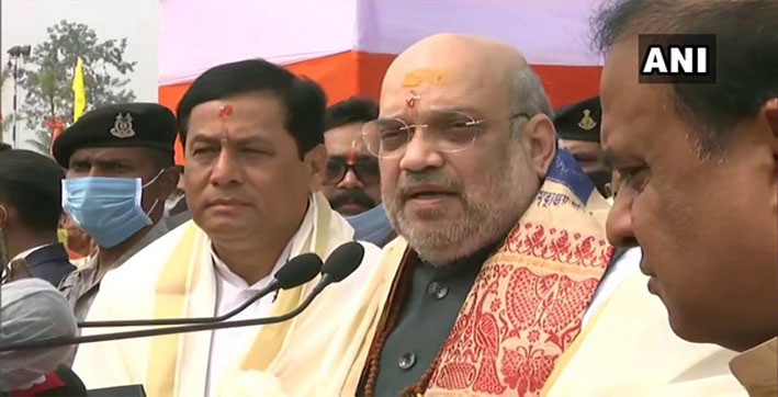 assam now known for development education tourism amit shah