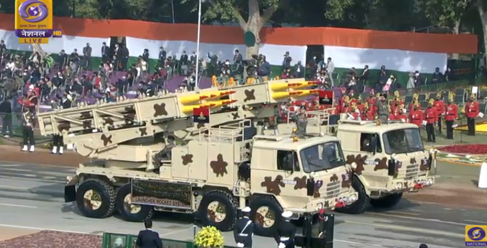 india displays military might on republic day