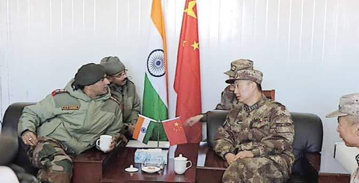 india china agree to push for early disengagement of frontline troops in ladakh at corps commanders talks