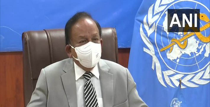 world on verge of defeating pandemic says harsh vardhan at who meet